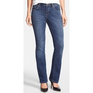 Foster Mid Rise Boot Leg Jeans